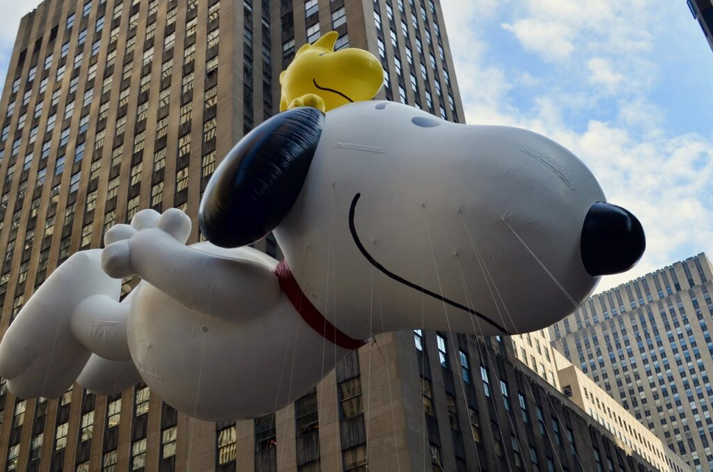 thanksgiving, parade, snoopy